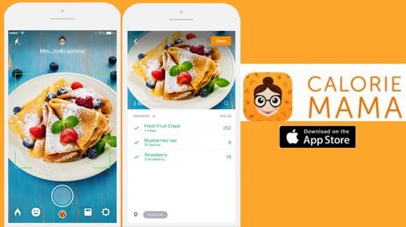 Calorie Mama app foto calorias