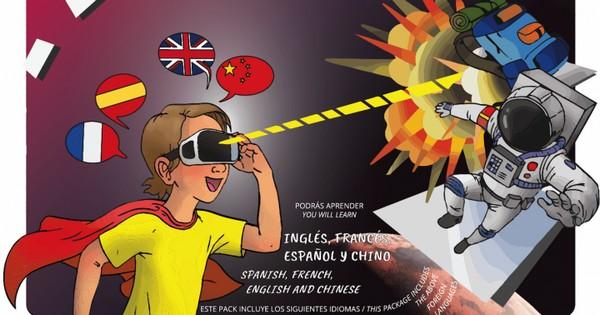 Hero Mask lentes realidad virtual idiomas