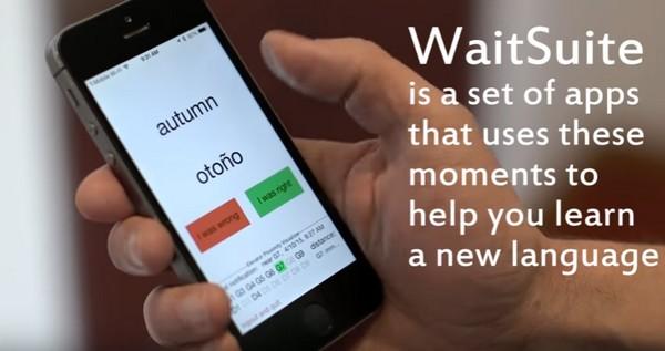 WaitSuite app aprender idiomas