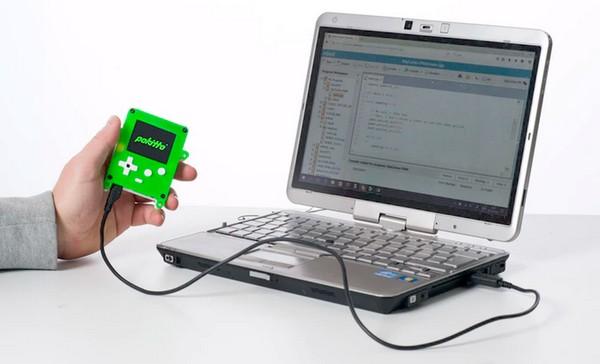 Pokitto gadget consola para programar